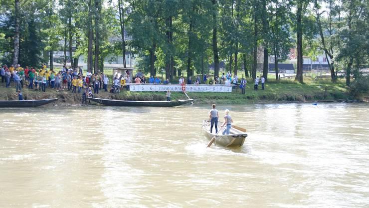 Der Pontonier-Wettkampf in Dietikon konnte bei herrlichem Wetter stattfinden.