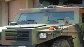 Der Fussgänger wurde von einem Militärfahrzeug angefahren. (Symbolbild)