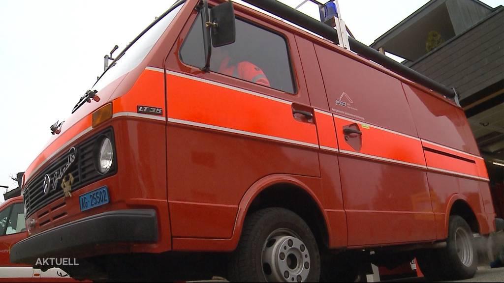 Bözberger Feuerwehr versteigert Einsatzfahrzeug im Internet