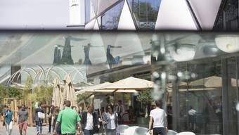 Das Aeschbachquartier im Torfeld Süd in Aarau hat das Quartier du Flon in Lausanne zum Vorbild