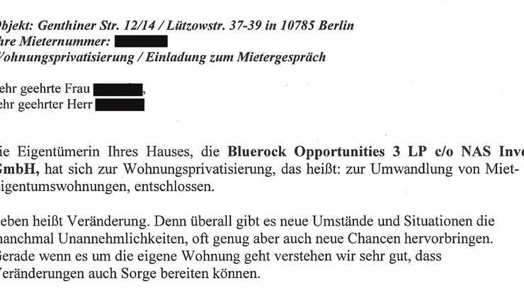 Zynische Ansage im Kündigungsschreiben: Leben heisst Veränderung.