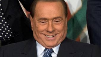 Freut sich auf Freunde im Altersheim: Silvio Berlusconi (Archiv)