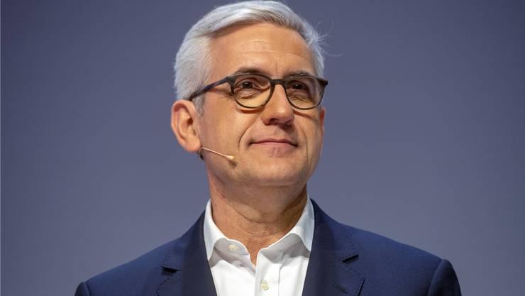 Umstrittener Lohn: Ulrich Spiesshofer.