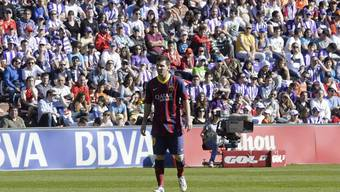 Barcelona geht gegen das abstiegsgefährdete Valladolid mit 0:1 unter