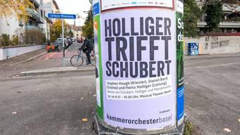 Viele Basler Kulturveranstalter sind auf Plakatwerbung angewiesen und – befürchten nun eine Kostenexplosion.