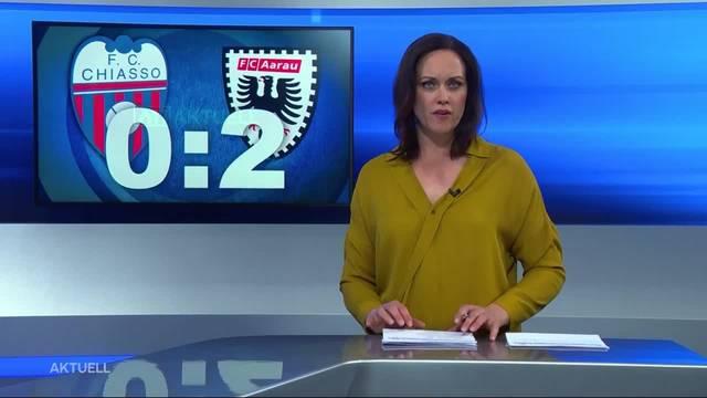 FC Aargau gewinnt gegen Chasso