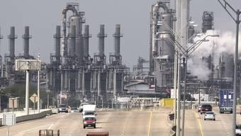 Die USA leben trotz mehr Treibstoff-Exporten noch immer über ihre Verhältnisse (Archiv)