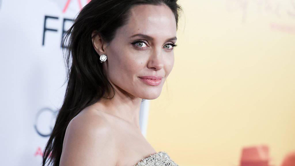 Endlich heissen alle gleich: Mann, Frau und Kinder - Jolie-Pitt (in einer Aufnahme vom November dieses Jahres).