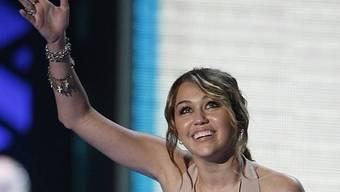 Miley Cyrus ist glücklich (Archiv)
