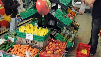 Lebensmittel-Abgabestellen sind sehr gefragt (Archiv)