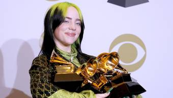 Billie Eilish räumte ab.