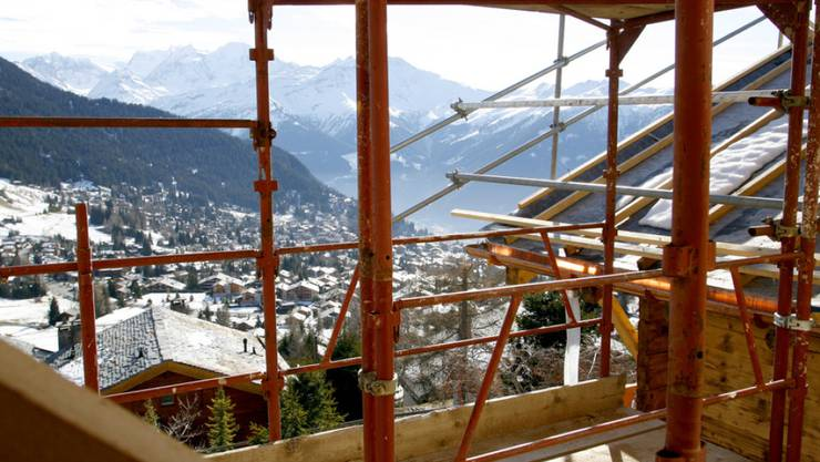 Im noblen Walliser Ferienort Verbier gab es ab den frühen 2000er-Jahren einen Bauboom. Zahlreiche Häuser wurden illegal erstellt. (Symbolbild)