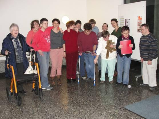 Sandra Valetti und die Unterhaltungsgruppe