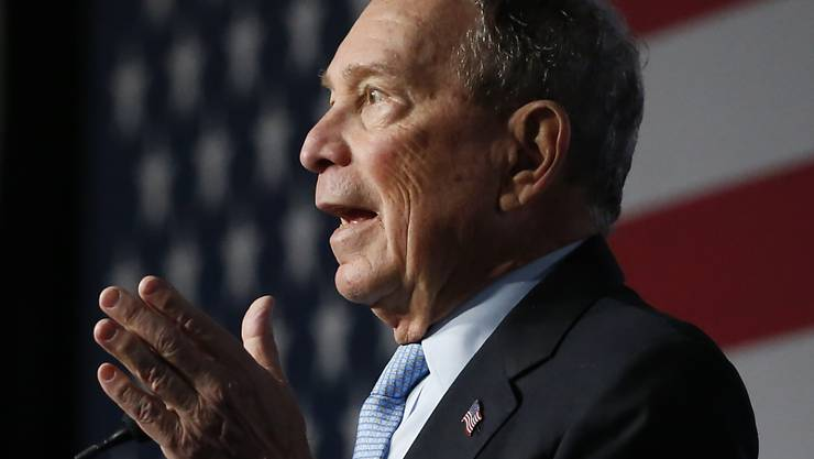 Unter wachsendem Druck wegen angeblich sexistischer Äusserungen: der demokratische Präsidentschaftsbewerber und Milliardär Mike Bloomberg.