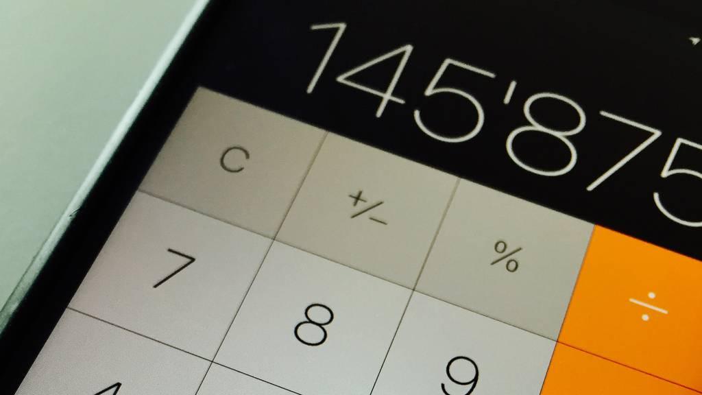 Digital: Taschenrechner-App -Trick