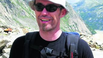 Andreas Rüegger ist oft in den Bergen unterwegs. Im letzten Sommer war er auf dem Weg zur Zofinger SAC-Hütte «Lauteraar». (Bild: zvg)