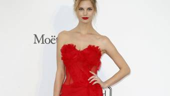 Für ihren Traum hat sie hart gearbeitet: Das österreichische Model Nadine Leopold darf als Engel über den Victoria's Secret-Laufsteg schreiten. (Archivbild)