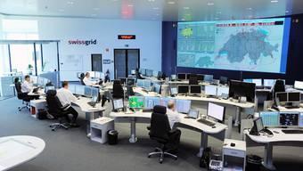 Strom-Leitzentrale der heutigen Netzbetreiberin Swissgrid in Laufenburg. Das Gebäude gehört noch der Axpo.
