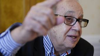 """Prangert die """"Machtlosigkeit"""" der UNO an: Soziologe und Globalisierungskritiker Jean Ziegler. (Archiv)"""