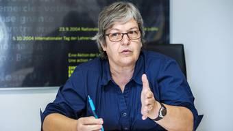 Elisabeth Abbassi, Präsidentin des Aargauischen Lehrerverbandes, pocht auf eine neutrale Wissensvermittlung in den Schulen.