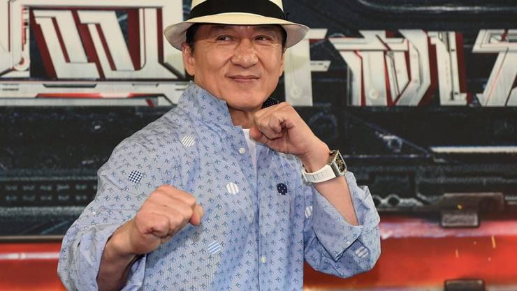 Der 62-jährige Schauspieler Jackie Chan aus Hongkong wird mit einem Oscar für sein Lebenswerk geehrt. (Archiv)