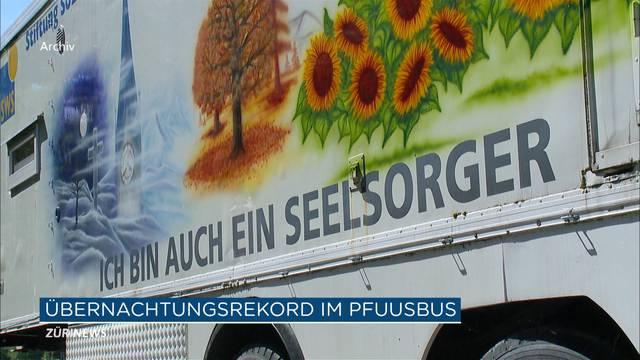 Rekord: 5`500 Übernachtungen im Pfuusbus
