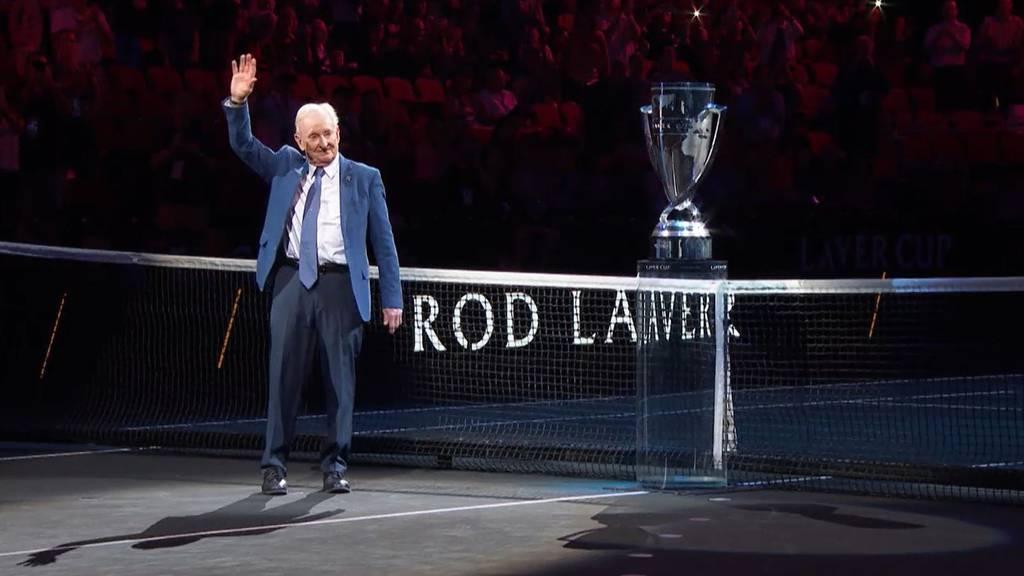 Die Tennislegende Rod Laver erklärt den Laver Cup