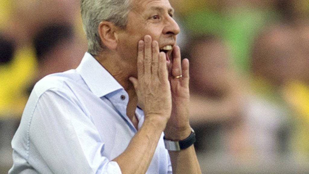 Ziel nicht erreicht: Lucien Favre verpasst mit Nice die Qualifikation für die Europa League