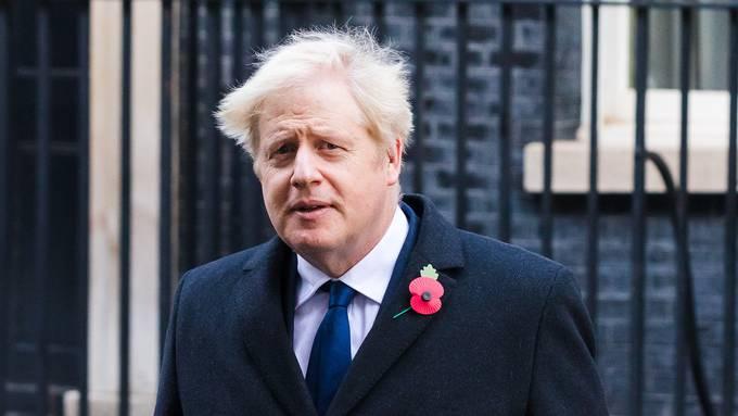 Grossbritanniens Premierminister Boris Johnson führt wieder ein Covid-Warnsystem ein. (Archivbild)