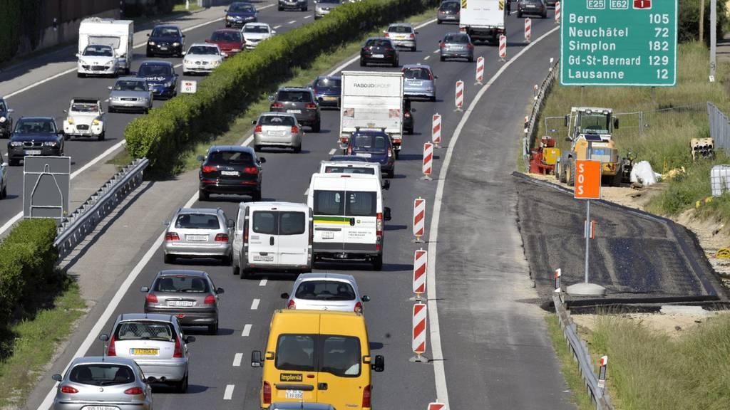 Massive Zunahme von Lieferwagen auf Schweizer Strassen