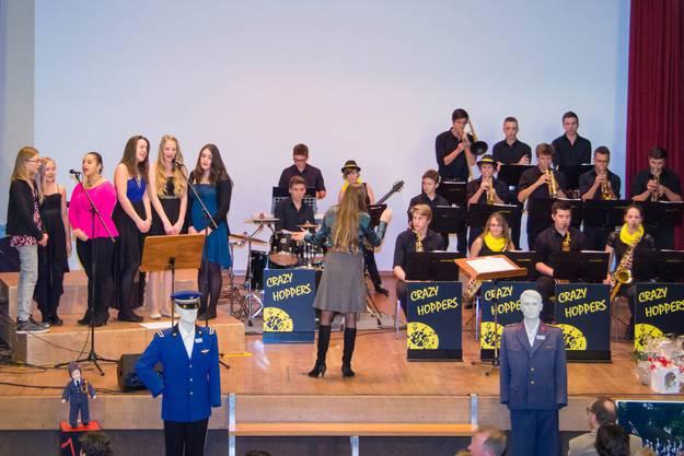 MV Wohlen, Chor der Regionalen Musikschule und die Crazy Hoppers zusamme