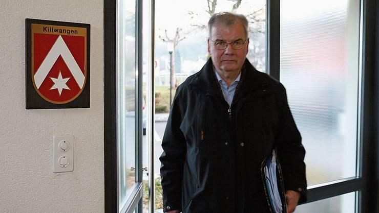 Walter Käppeli ist Teil des Komitees, das die Urnenabstimmung zum Budget erzwang.
