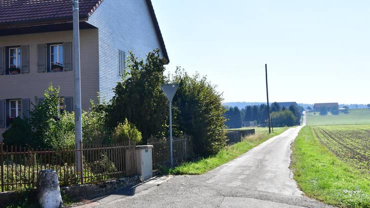 Leuenbühlweg mit direkter Verbindung zum Stumpenrainweg.