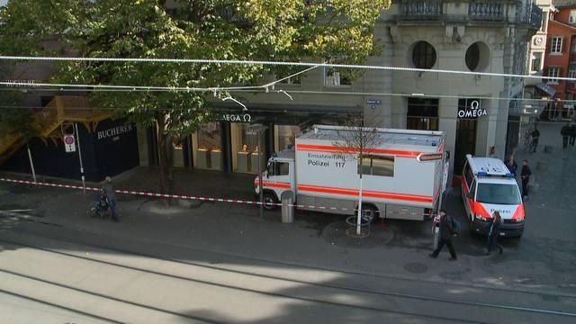 Überfall in Zürich: Ein Uhren-Räuber gefasst