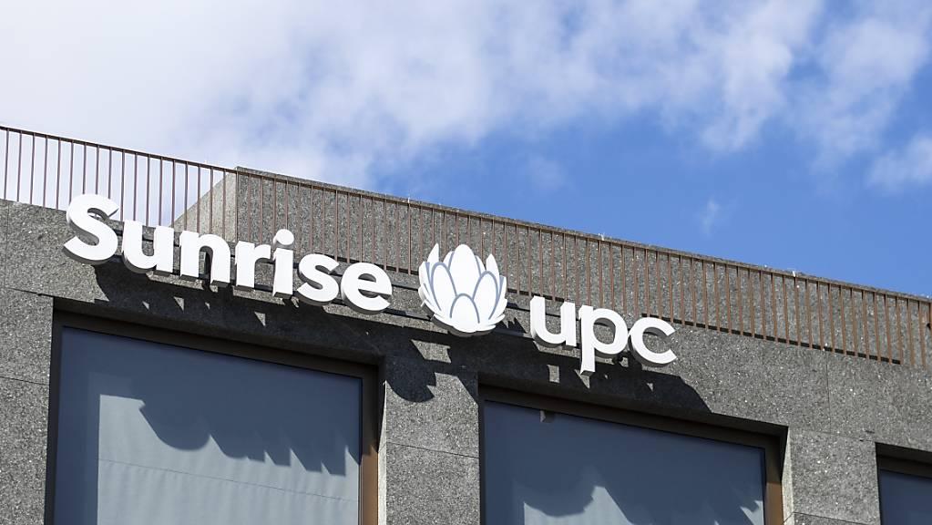 Die frisch fusionierte Sunrise UPC kann die Kunden vermehrt von kombinierten Abonnementen überzeugen. (Archivbild)
