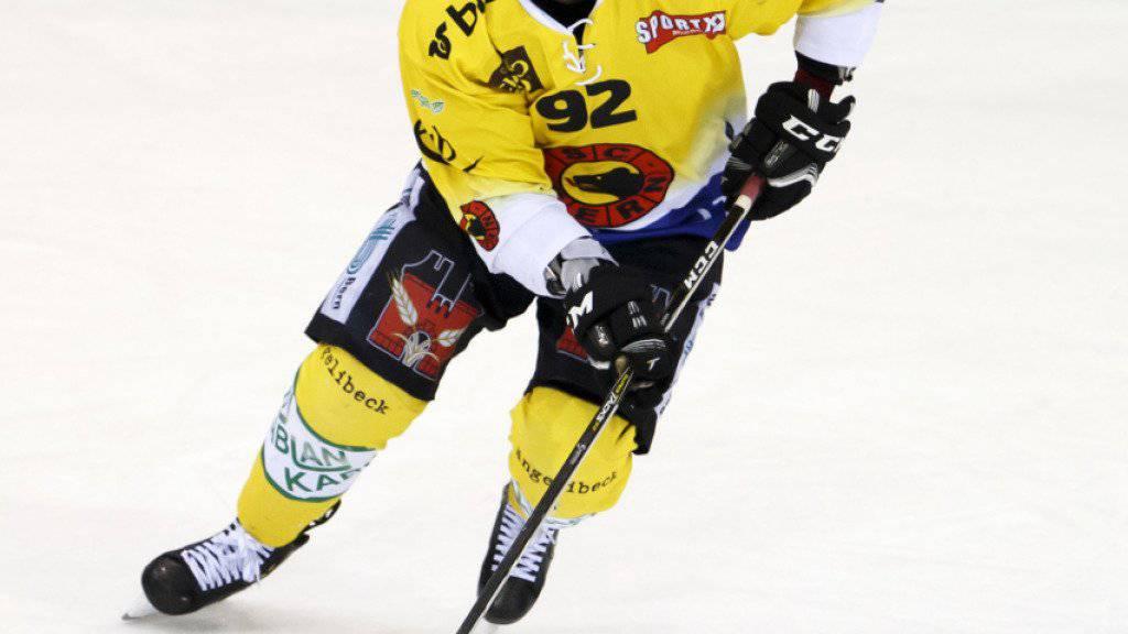 Gaëtan Haas erhält vom SCB eine NHL-Freigabe
