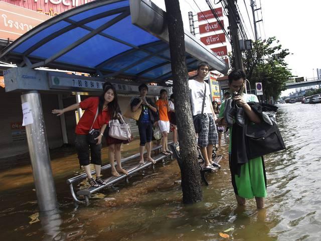Über 500 Tote bei Fluten in Thailand