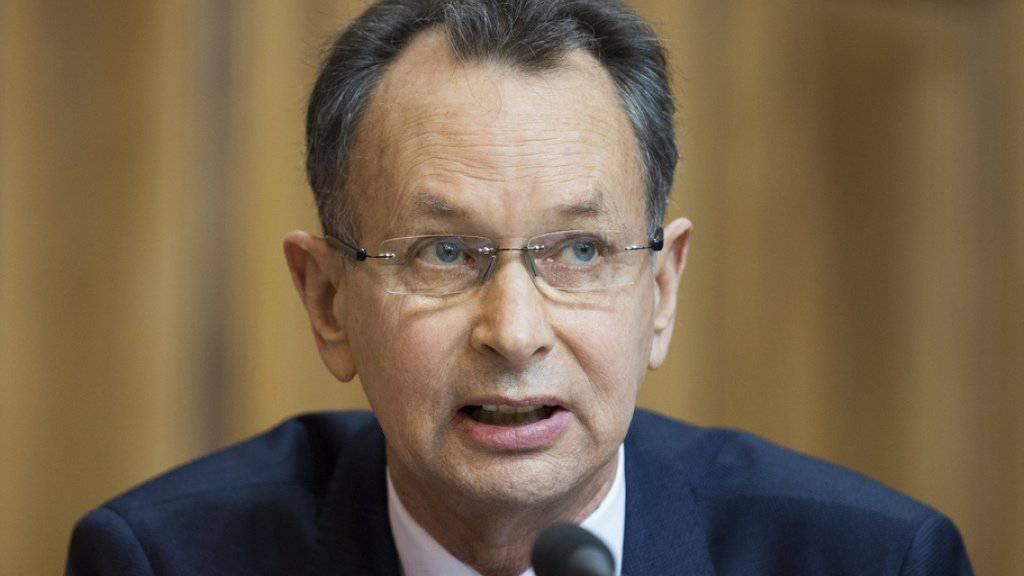 Ständerat Philipp Müller hat die Parteileitung der FDP Aargau informiert, dass er bei den Ständeratswahlen 2019 nicht zur Wiederwahl antritt.