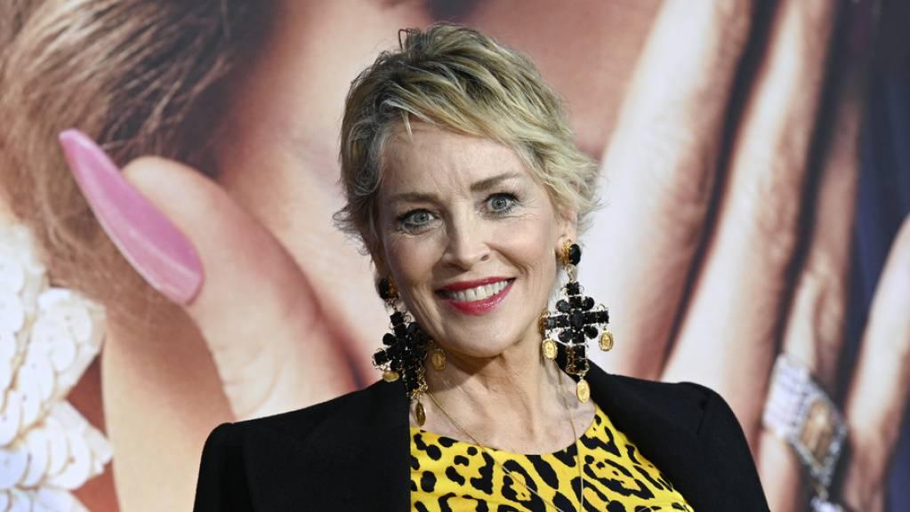 US-Schauspielerin Sharon Stone ist in Zürich. Am Samstagabend wird ihr am Zurich Film Festival der Golden Icon Award überreicht.