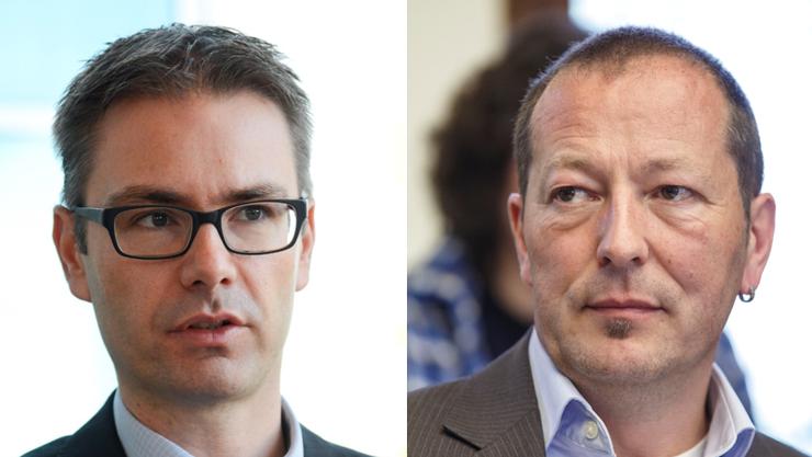 Jörg Aebischer und Hardy Jäggi