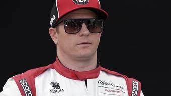 Auch Kimi Räikkönen muss sich derzeit anders beschäftigen