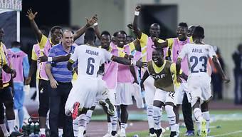 Ghana feiert den Finaleinzug