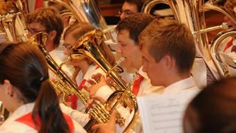 Konzert der Jugend-Brass-Bands und eines Jugendblasorchesters des Solothurner Blasmusikverbandes (SOBV)