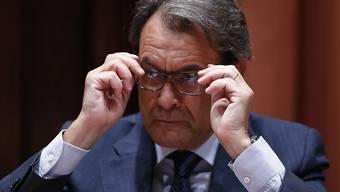 Schicksalswahlkampf für Spanien: Kataloniens Regierungschef Artur Mas will das Unabhängigkeitsreferendum.