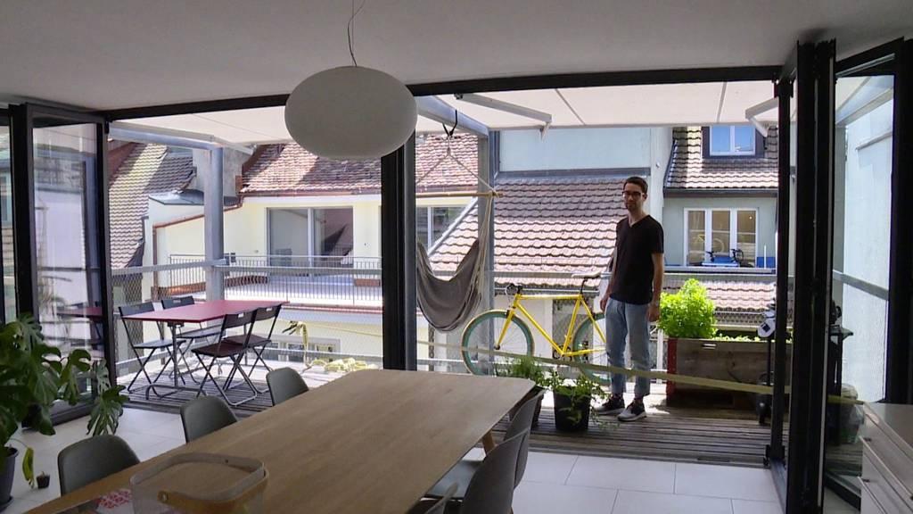 Architekt Fabio zeigt seine hippe Altstadt-Wohnung
