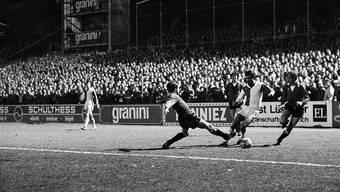 Am 15. März 1978 war der Hardturm bis auf den letzten Platz gefüllt: 30'000 bei GC - Eintracht Frankfurt