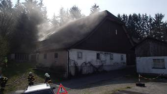 Brand in Moosleerau