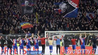 Der FC Basel gewinnt am Mittwochabend mit 3:1 gegen den FC Luzern.