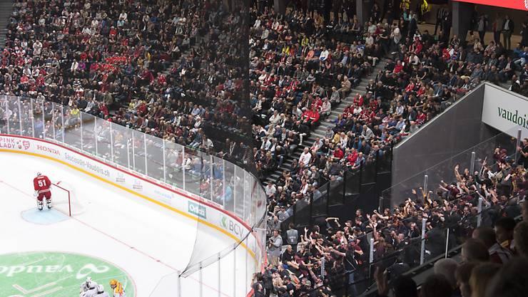 Genève-Servette verdirbt Lausanne HC die Premiere im neuen Stadion