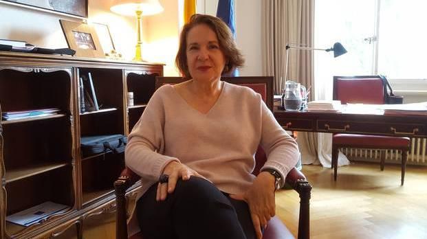 Desde este año, Aurora Díaz-Rato es la Embajadora de España en Berna.